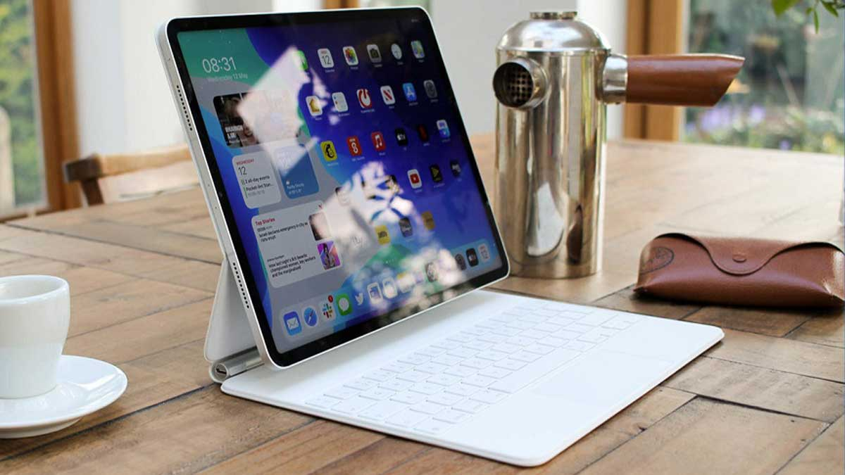 iPad Pro with wireless charging