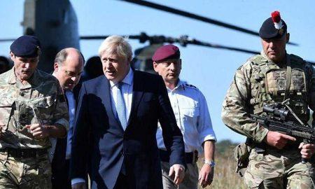Boris Johnson in Afghanistan