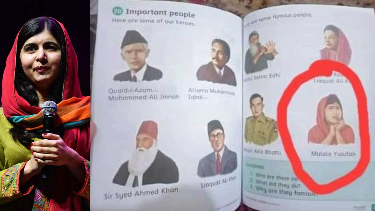 Malala in book
