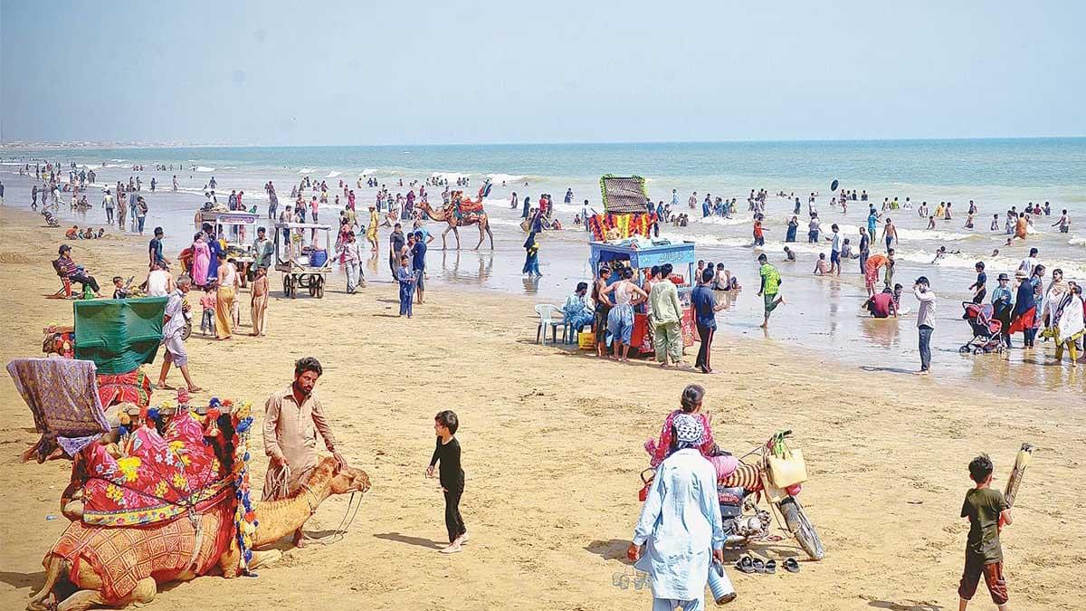 stressful Karachi