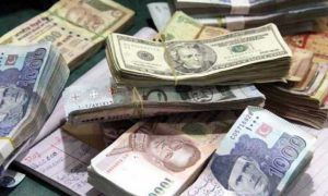 Dollar against rupee