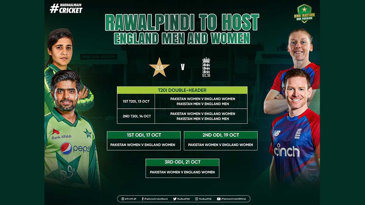 England tour Pakistan