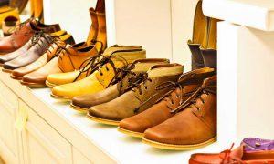 Footwear production
