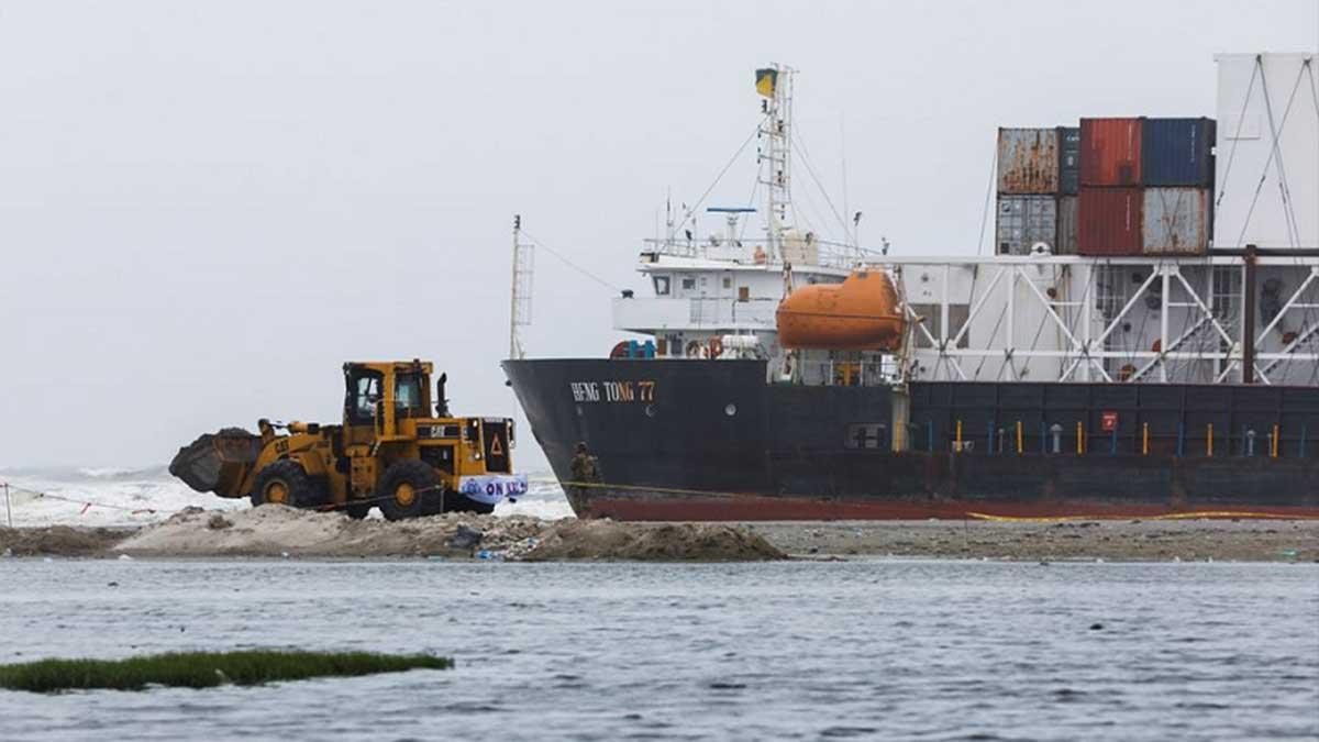 Karachi cargo ship