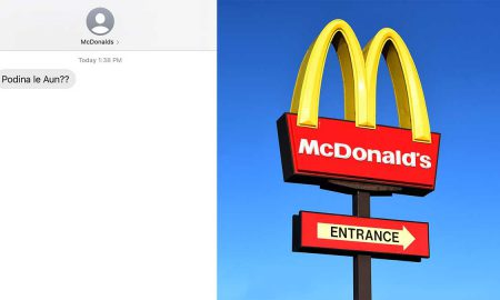 McDonalds Podina