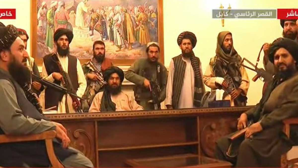 Presidential place Taliban
