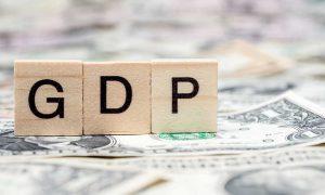 current account deficit of GDP