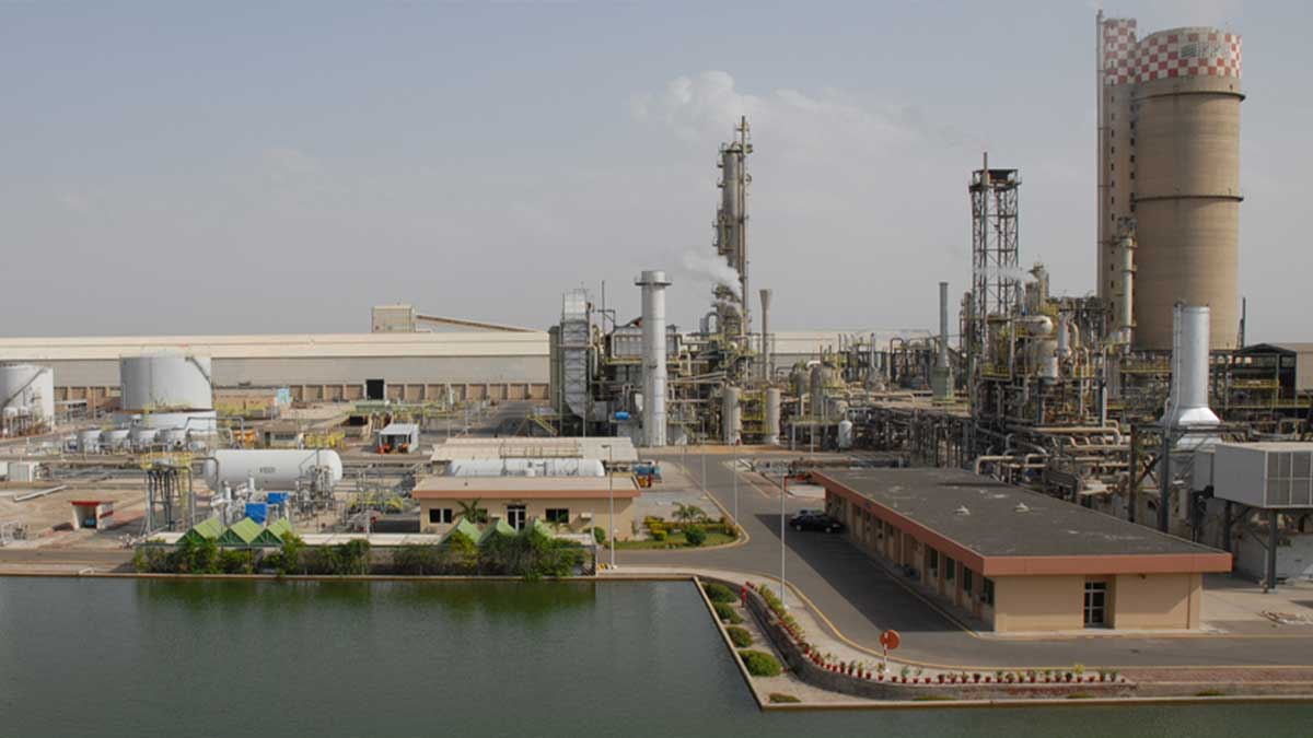 gas to fertilizer plants