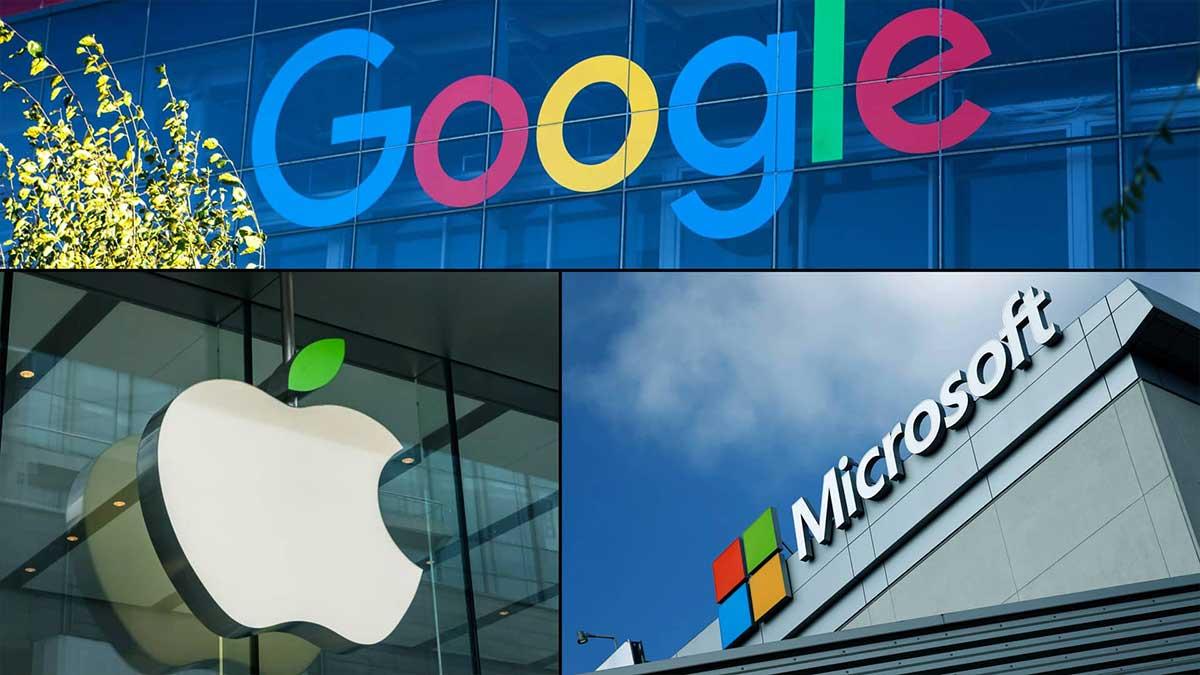 tech giants profits