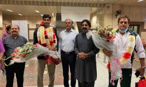 welcome Arshad Nadeem