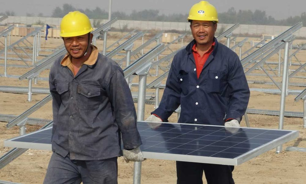 Chinese working in Pakistan