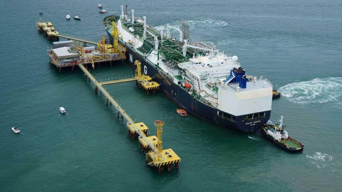 Engro LNG terminal