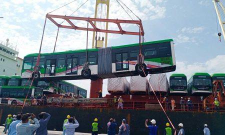 Green Line buses
