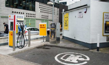 Shell charging points