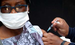 South African woman coronavirus
