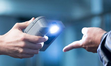 contactless biometric verification