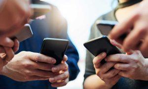 employees using social media