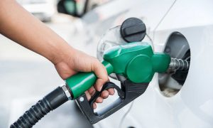 Petrol price for October